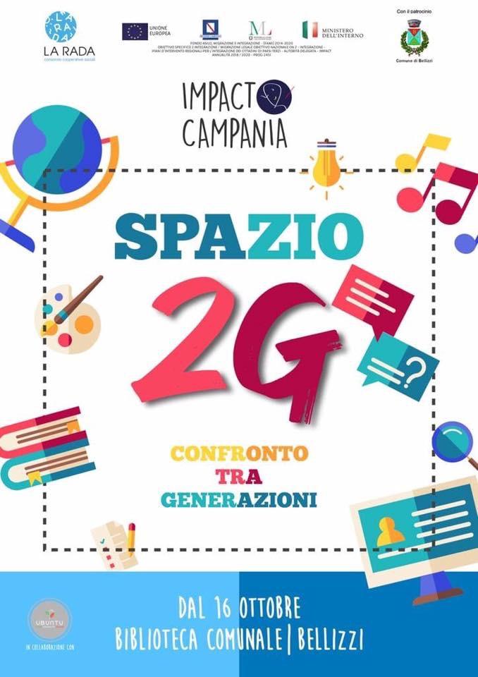 Bellizzi (Sa), nasce spazio 2G: un laboratorio creativo per le seconde generazioni