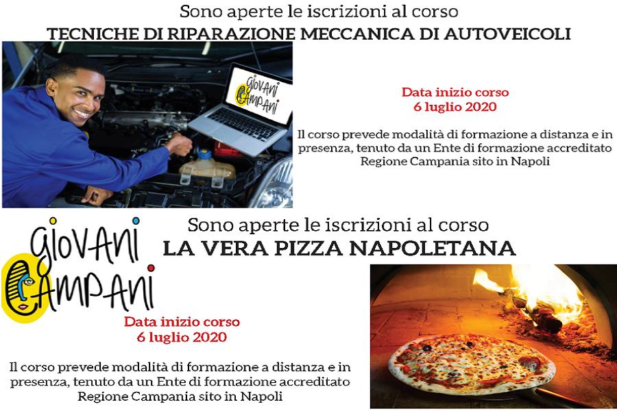 Corsi di formazione per minori stranieri non accompagnati: Meccanico e Pizzaiolo