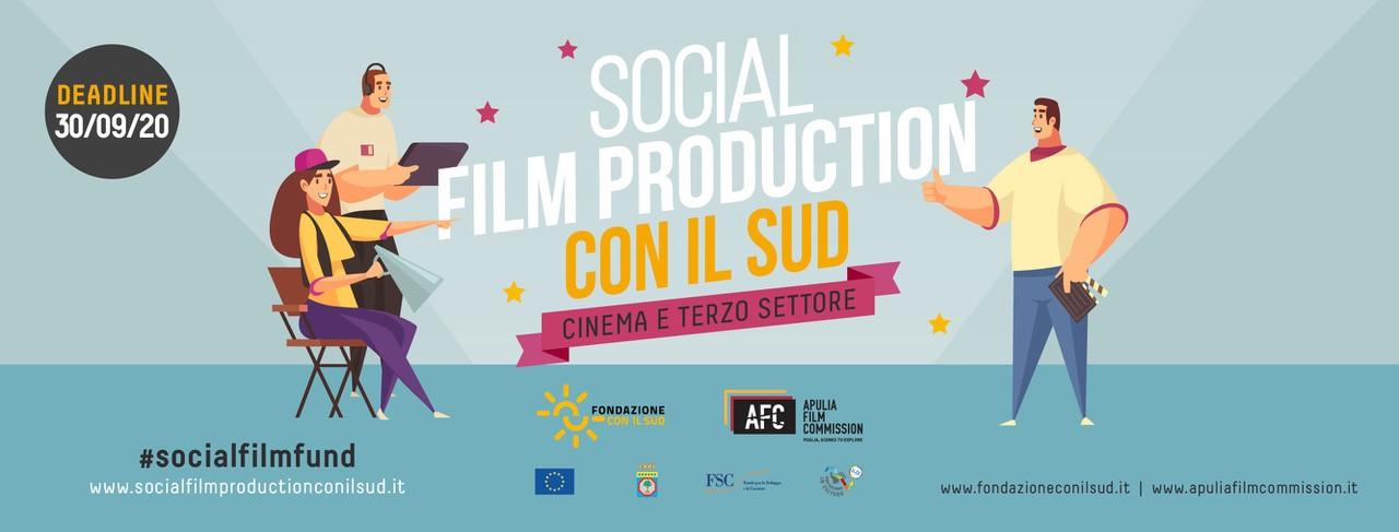 Cinema e terzo settore: al via il bando di Fondazione per il Sud