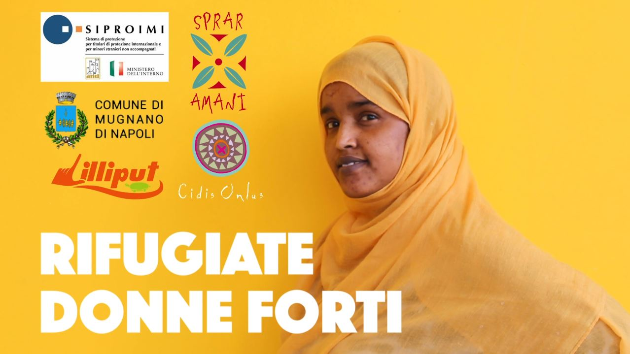 "Un video per celebrare ""Rifugiate donne forti"""