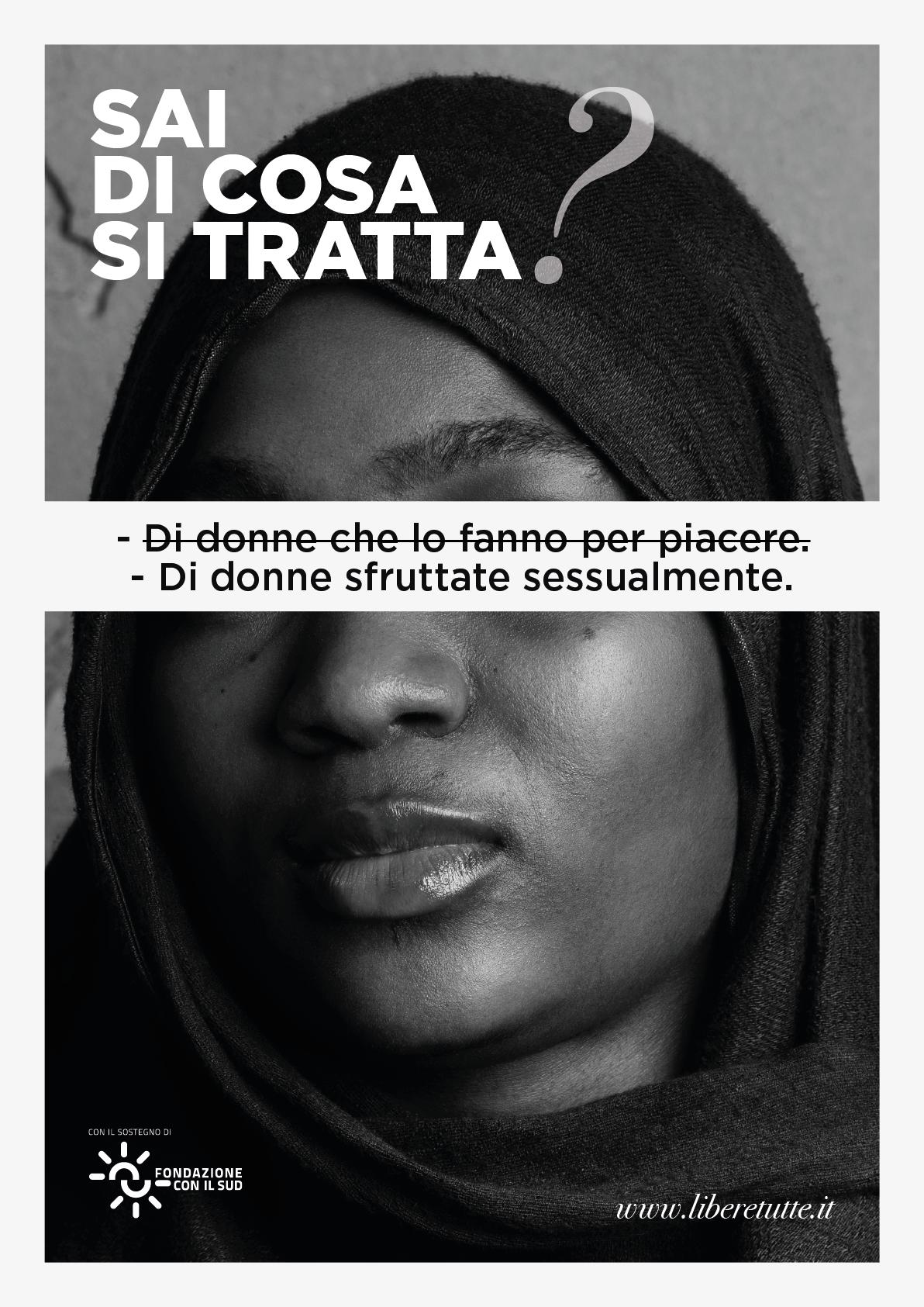 """""""Sai di cosa si tratta?"""" La campagna di comunicazione sulle vittime di tratta"""