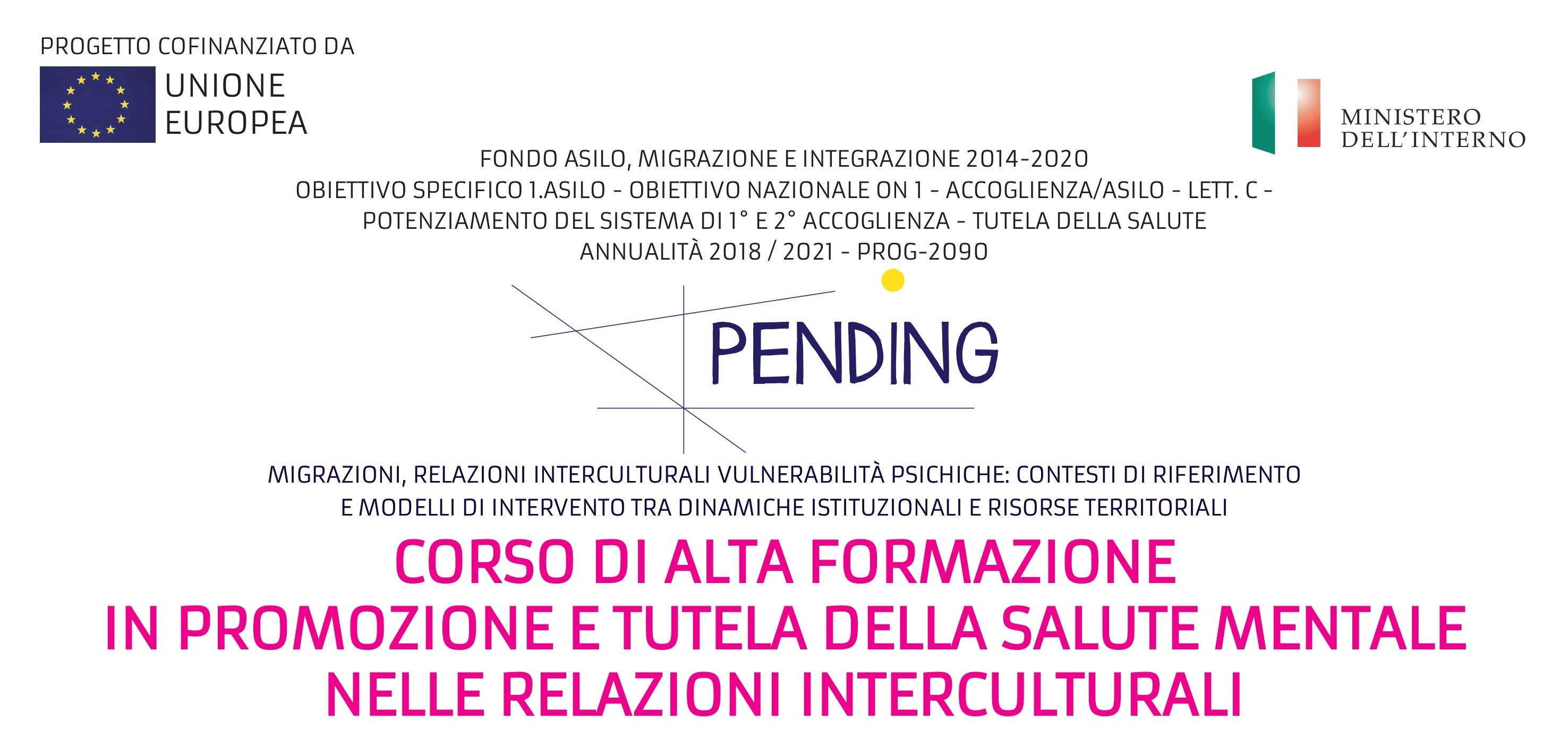 Corso di Alta Formazione in promozione e tutela della salute mentale nelle relazioni interculturali